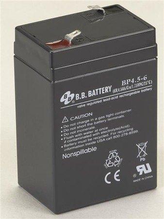 Akumulator kwasowo-ołowiowy do latarek: VULCAN/FIRE VULCAN