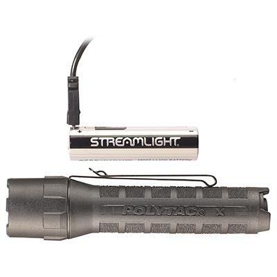 Akumulatorowa latarka taktyczna PolyTac X USB, kol. Coyot, 600 lm