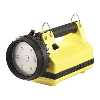 Akumulatorowy szperacz E-Flood LiteBox SET, żółty, 615 lm
