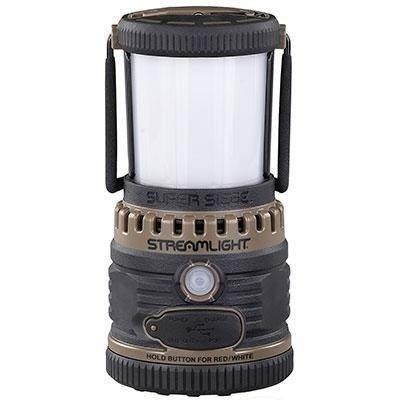 Lampa kempingowa z USB Super Siege,kol. coyot,1100 lm