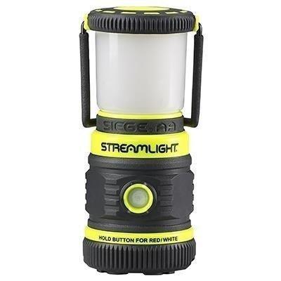 Lampa kempingowa z magnesem Siege AA, kol. żółty, 200 lm