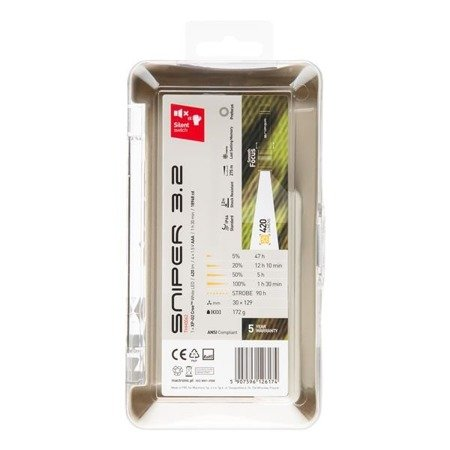 Latarka ręczna Mactronic SNIPER 3,2, 420lm