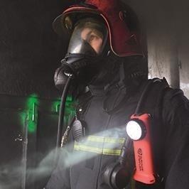 Strażacka latarka akumulatorowa Survivor ATEX Set, 175 lm